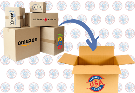 Ship to your country packages from US websites stores